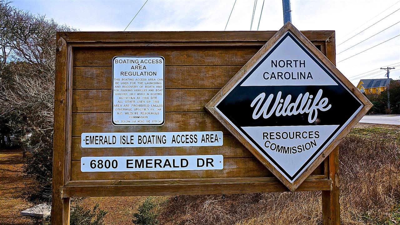 Wildlife Boat Ramp Info