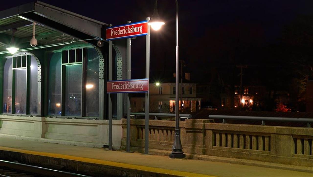 Fredericksburg VRE train station, Fredericksburg, VA