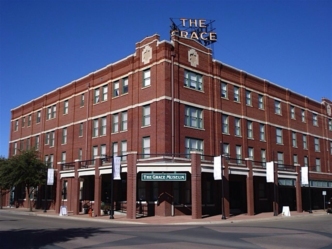 Abilene TX, The Grace Museum, Downtown Abilene, Historic Abilene