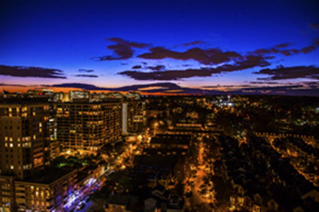 Evening Skyline from Arlington. VA