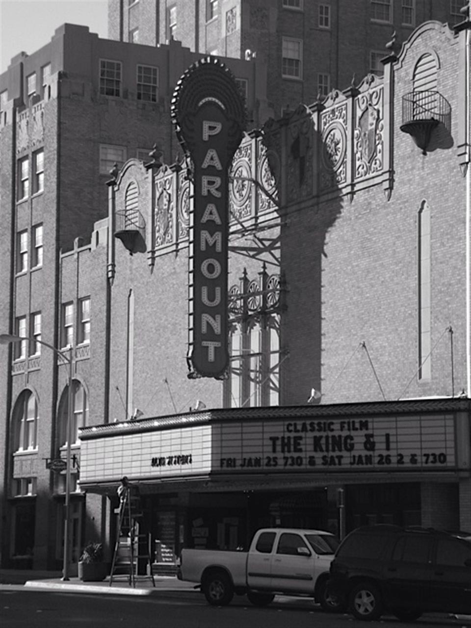 Abilene TX, Paramount Theater, Historic Abilene