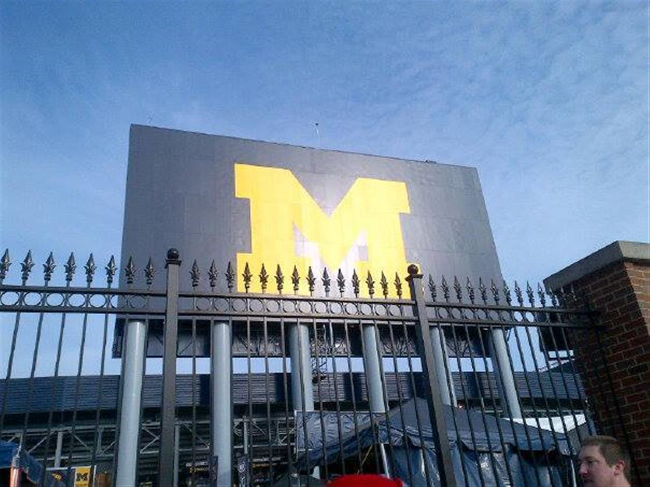 Michigan Stadium at the University of Michigan ~ Ann Arbor, Michigan #LeadingRElocal