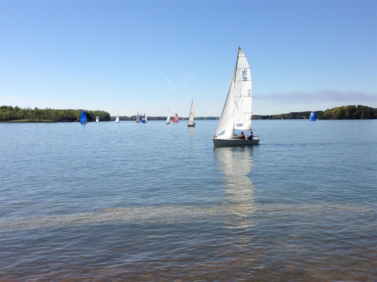 Saturday Regatta, Lake Norman