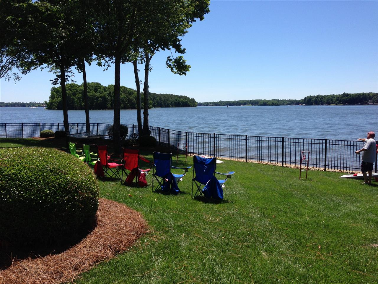 Chairs with a view! Lake Norman