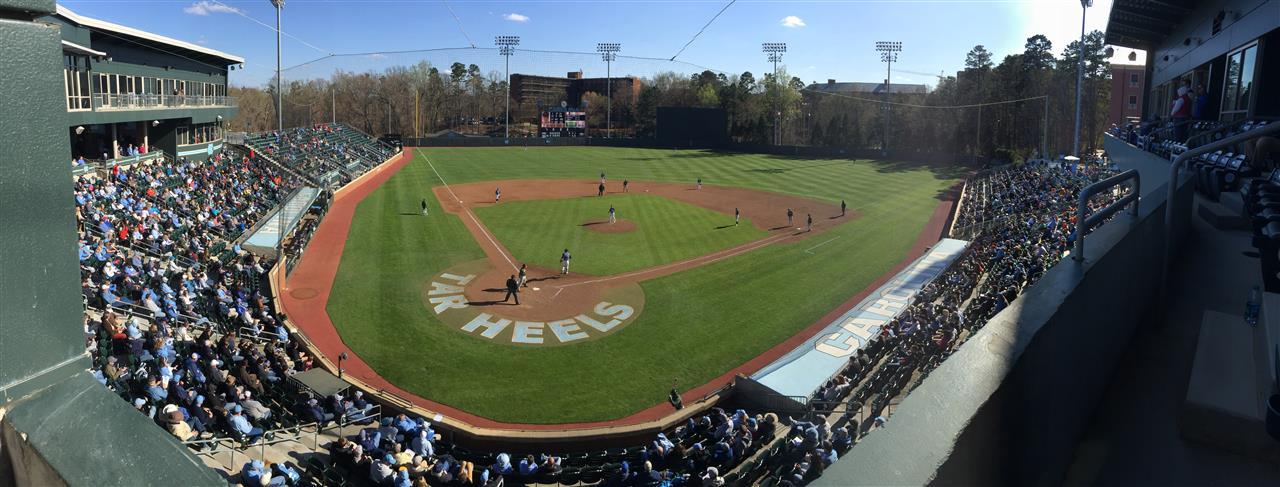 UNC Baseball game - Chapel Hill, NC