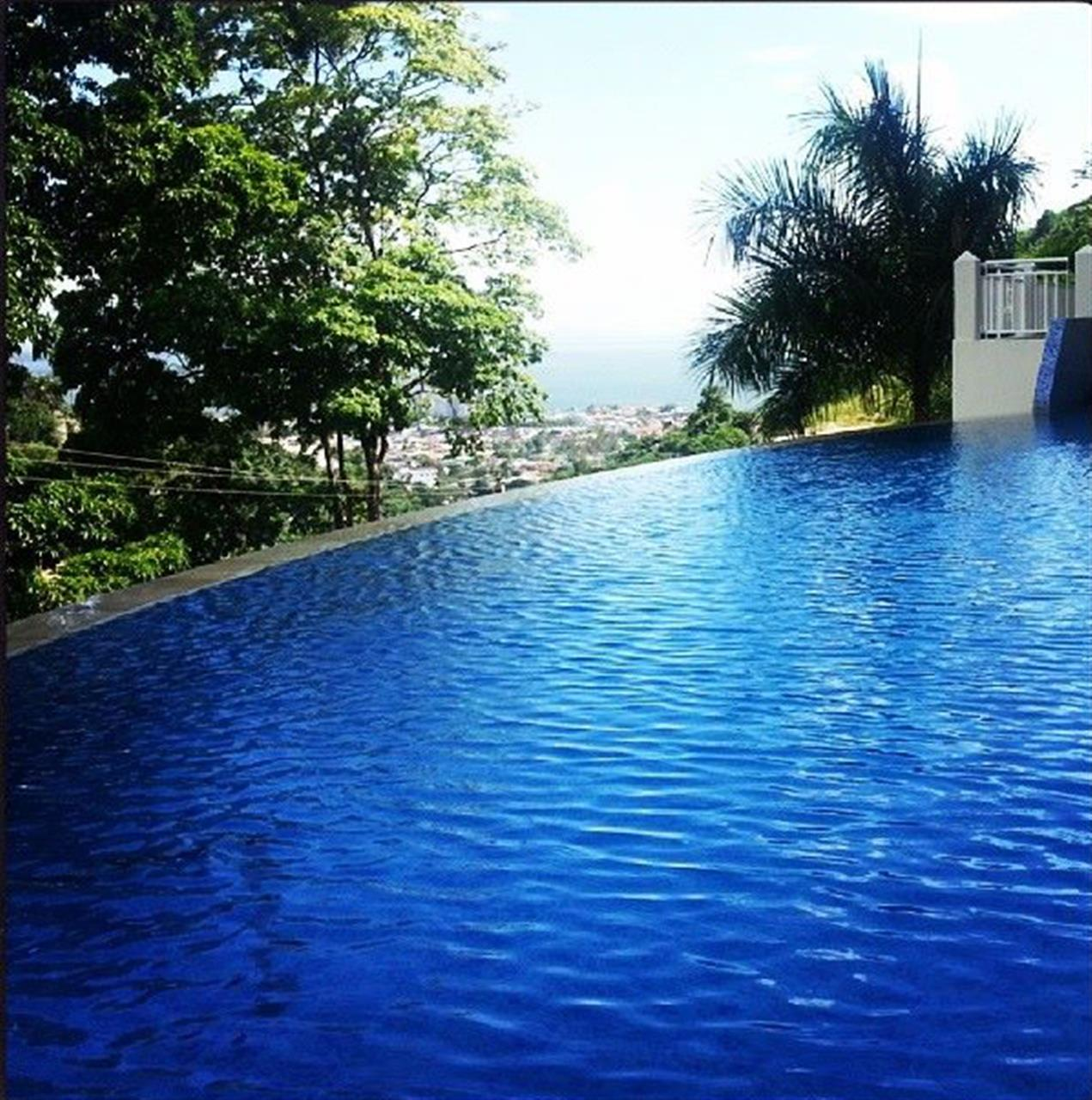 Pool views from Goodwood Park, Trinidad