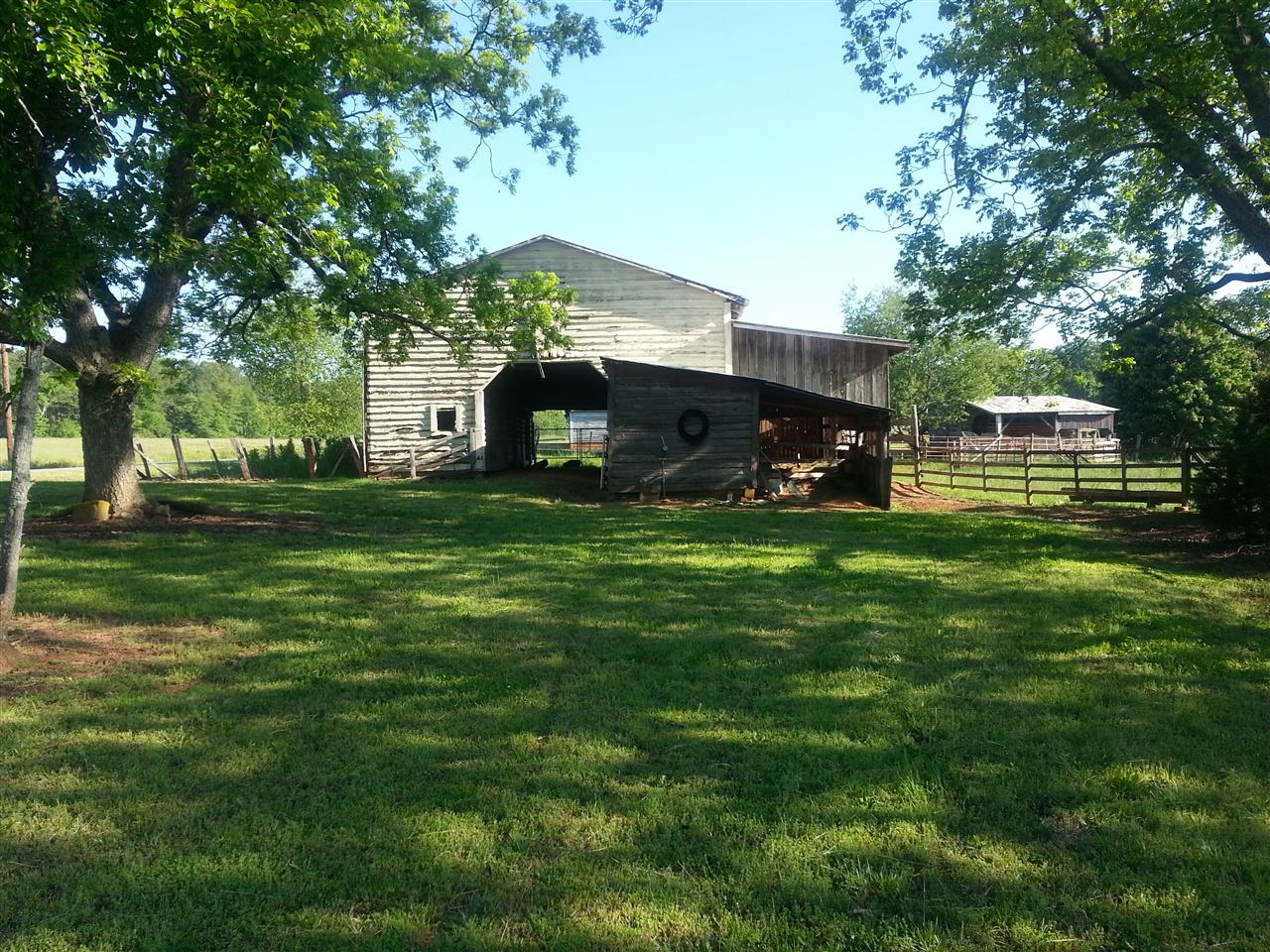 Barns in Bostic, NC.