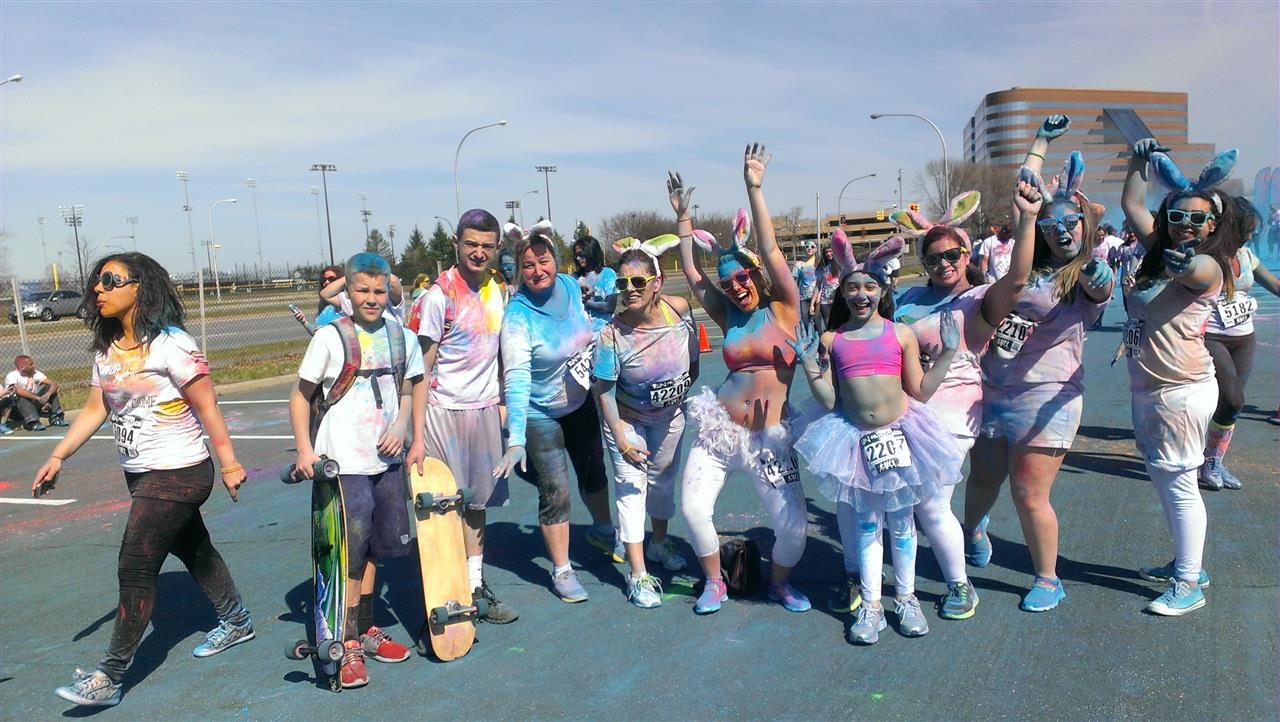 #LeadingReLocal #RunorDye #NassauColiseum #Fun #NetterLovesTheCommunity #LongIsland #Uniondale #MaureenRacioppi #Community