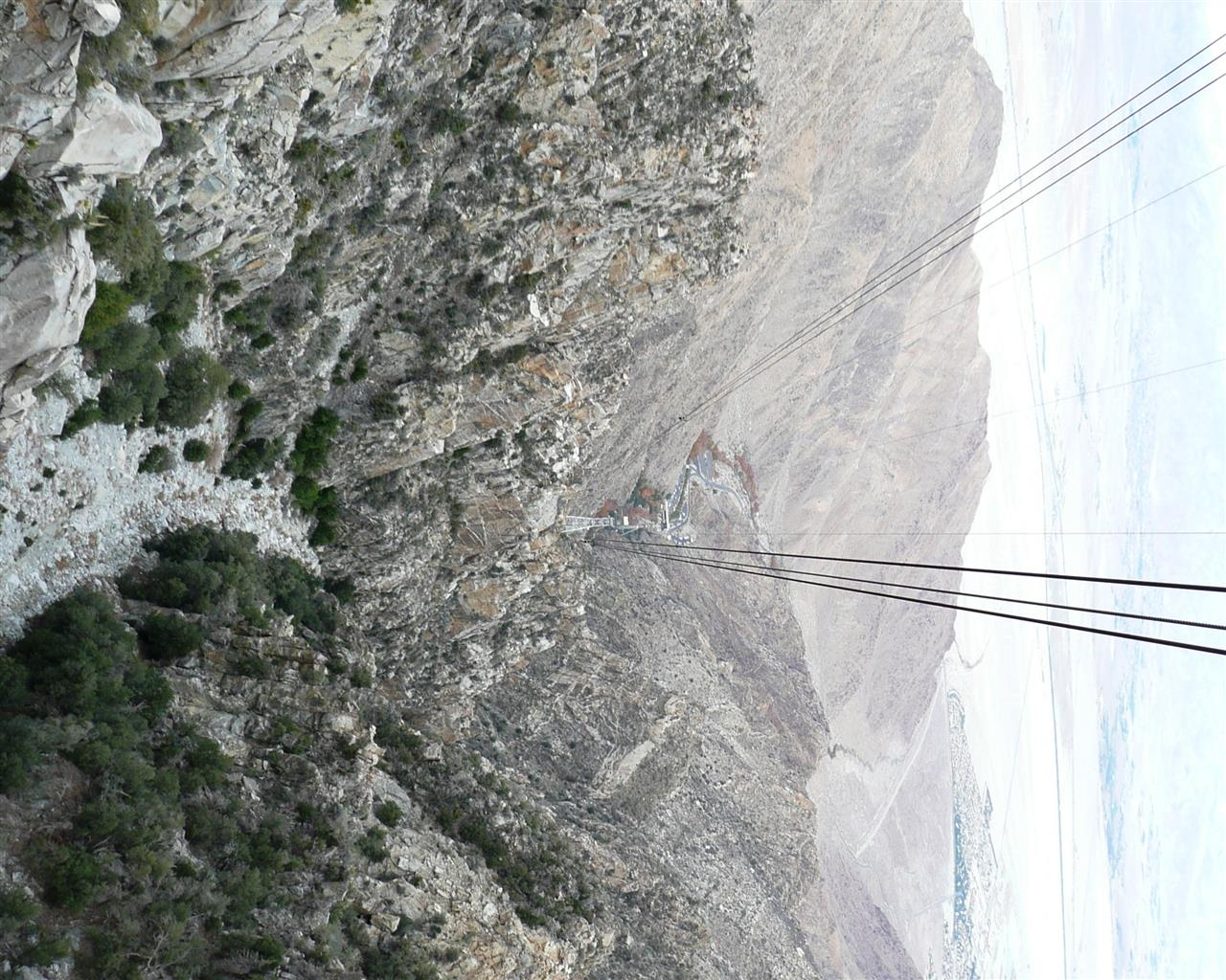 Palm Springs, CA Tram Descent