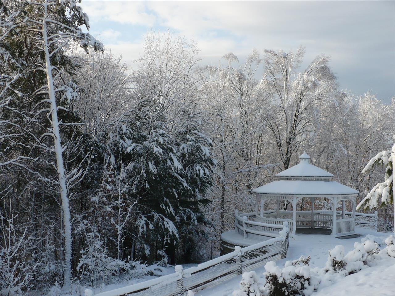 Winter Wonderland in Mooresville, NC