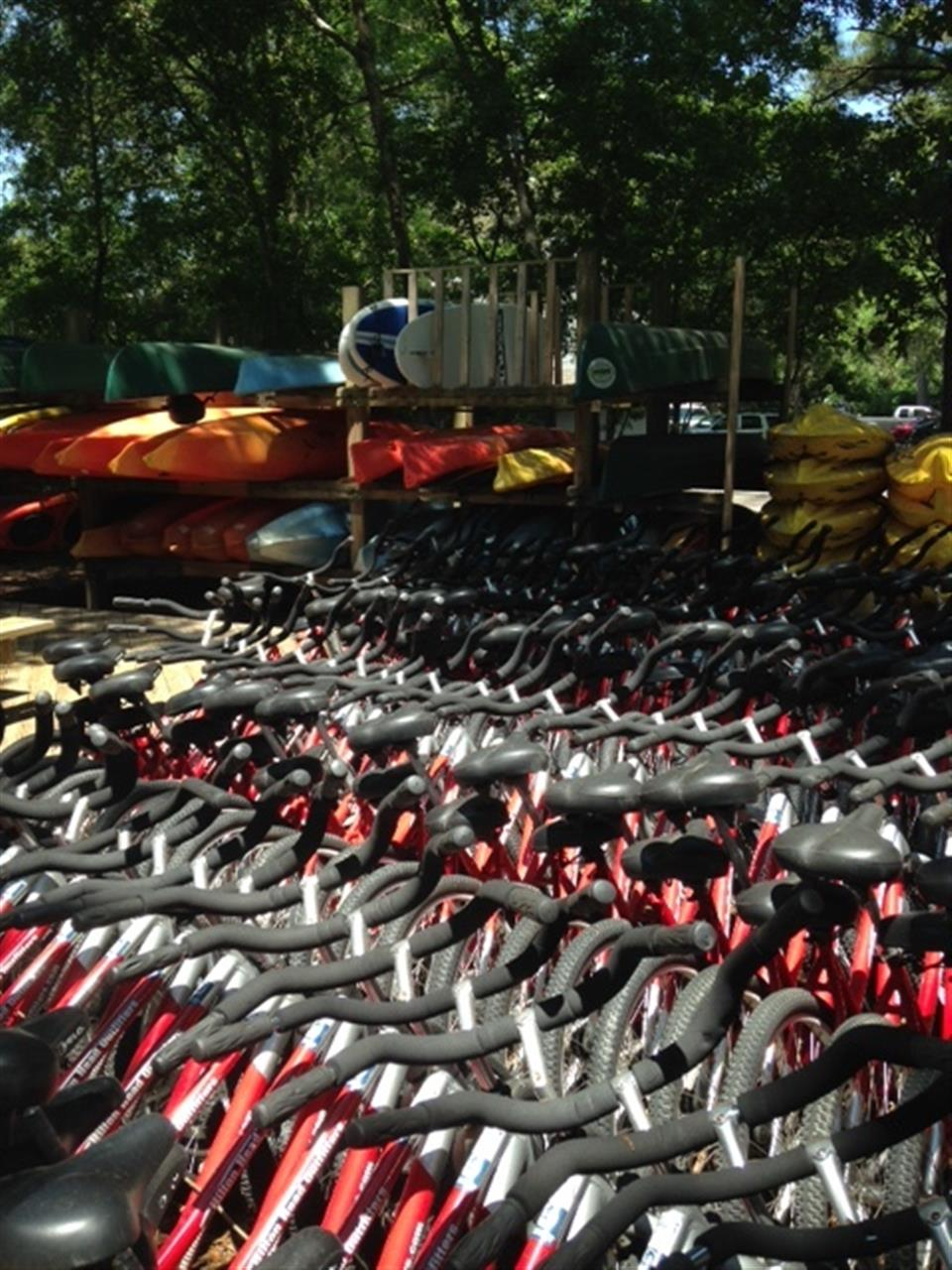 Palmetto Dunes Resort HHI SC, The Outfitters is ready with bikes and kayaks for you!