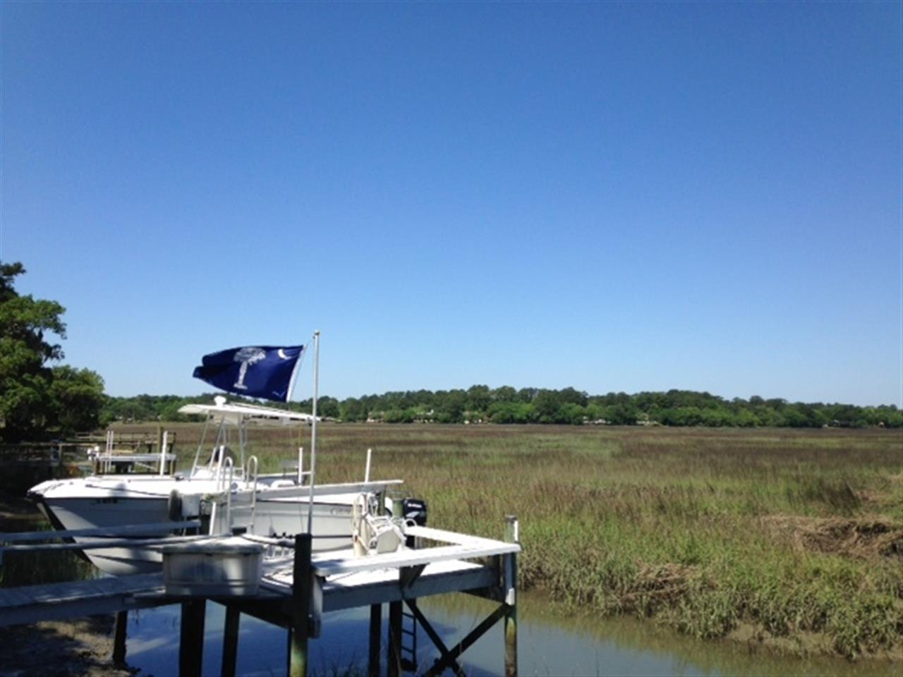 Moss Creek Plantation Hilton Head Island SC, beautiful day to take out your boat