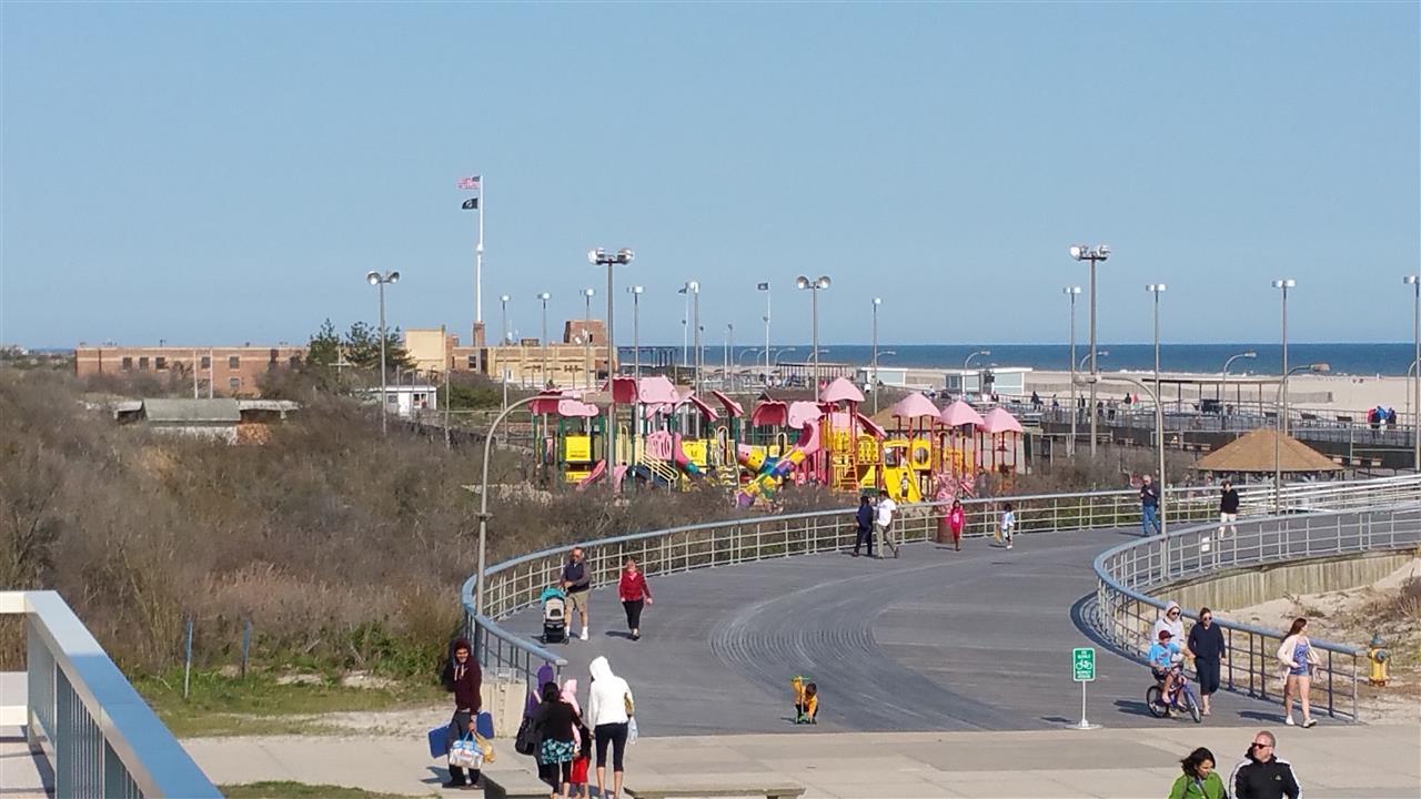 Wantagh,NY Jones Beach Boardwalk and Playground