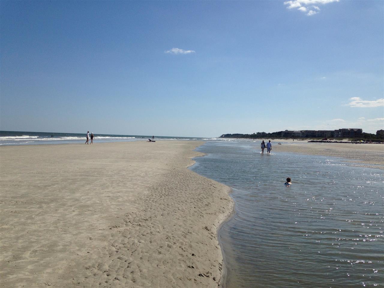 Hilton Head Island SC  Going for a walk on the beach