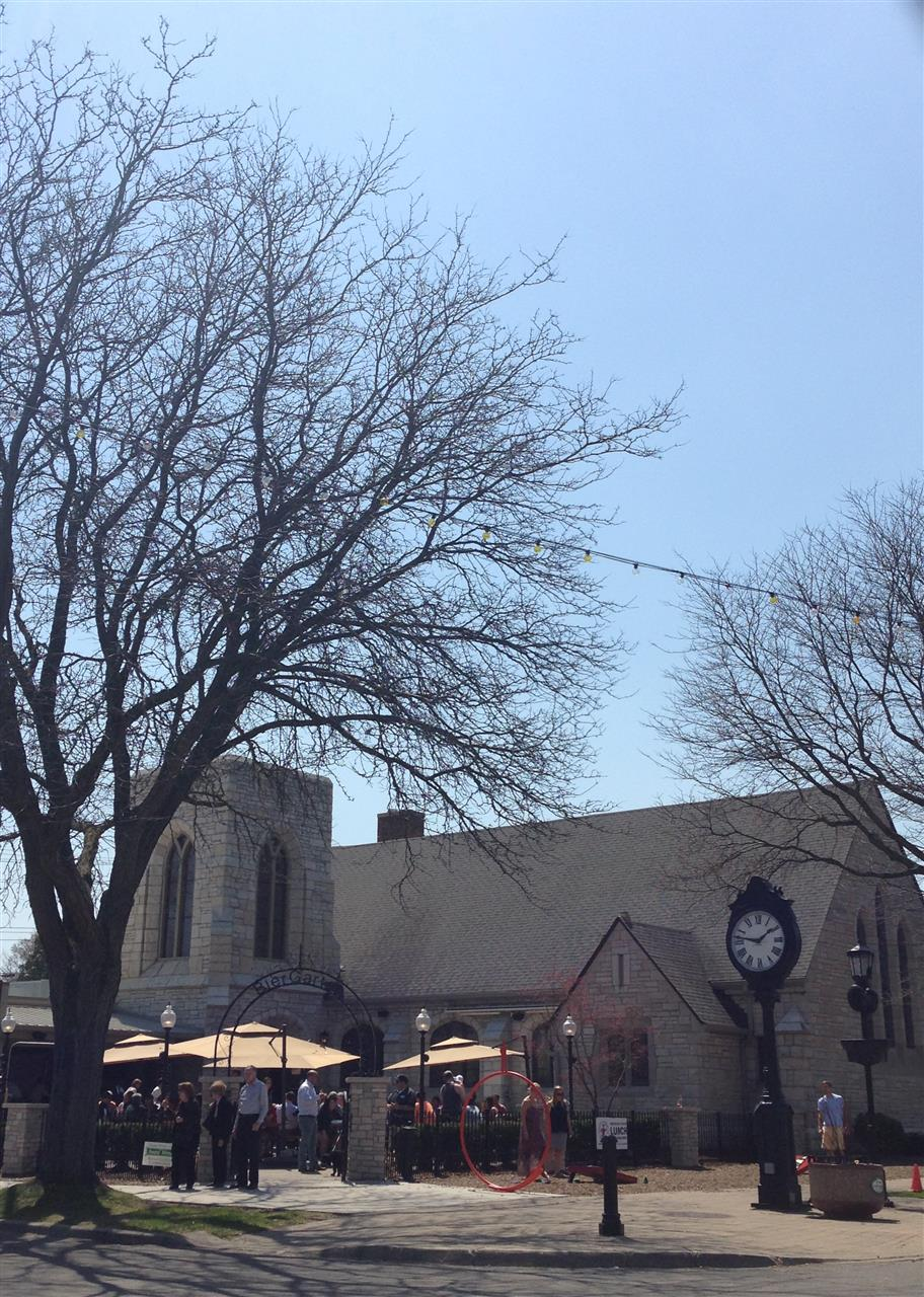 Atwater in the Park resides in a closed Grosse Pointe Park church that's being converted into a beer hall-style restaurant and outdoor biergarten. ~ Grosse Pointe Park, Michigan #LeadingRElocal #GrossePointe #Michigan