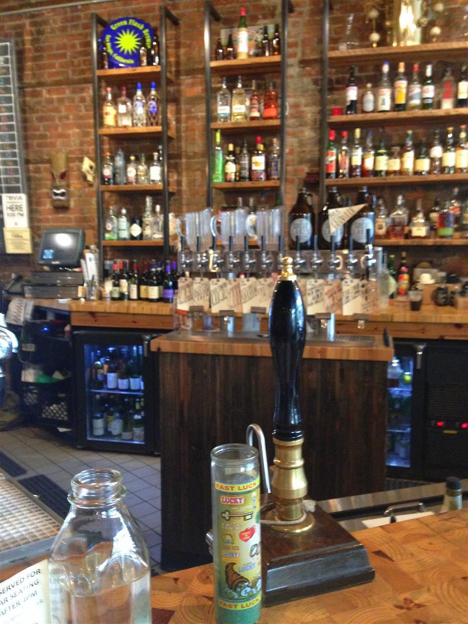 Interior of Great Lakes Coffee, a Midtown coffee bar ~ Detroit, Michigan #LeadingRElocal #Detroit #Michigan