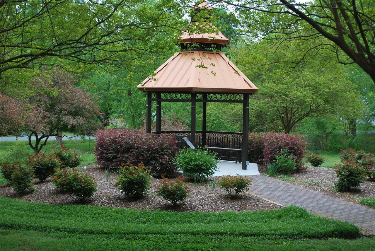 Willowbrook Park Gazebo. Burlington, NC.