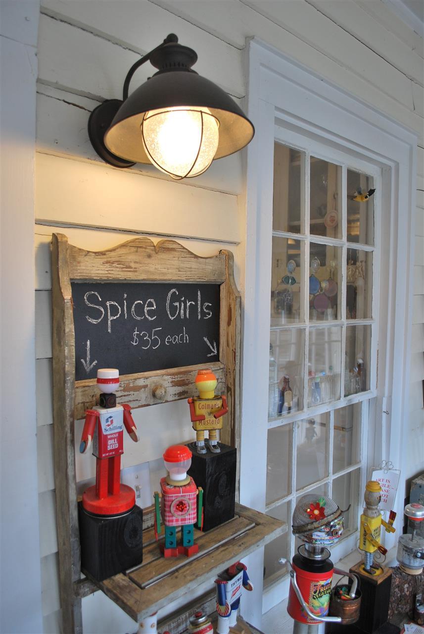 Spice Girls in studio. 2416 Glencoe. Glencoe Mill VIllage near Burlington, NC.