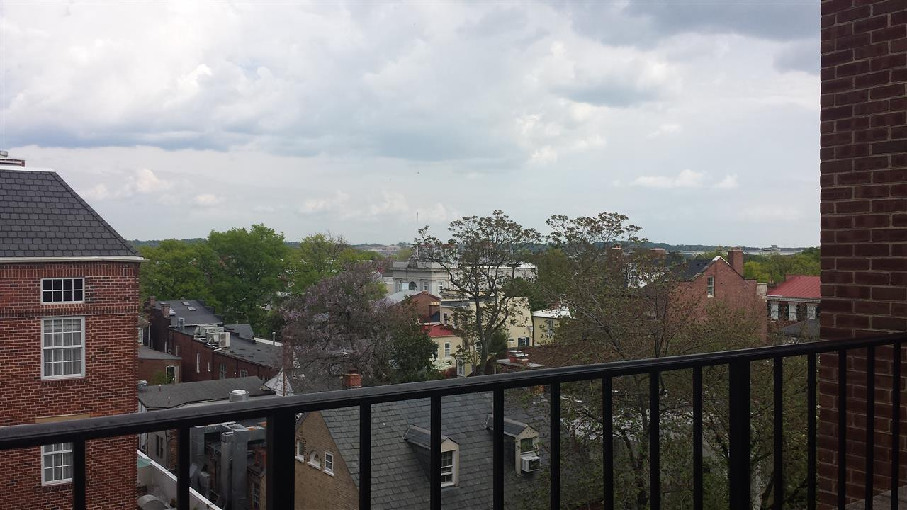 View of the Potomac River from the Courthouse Building, Alexandria VA