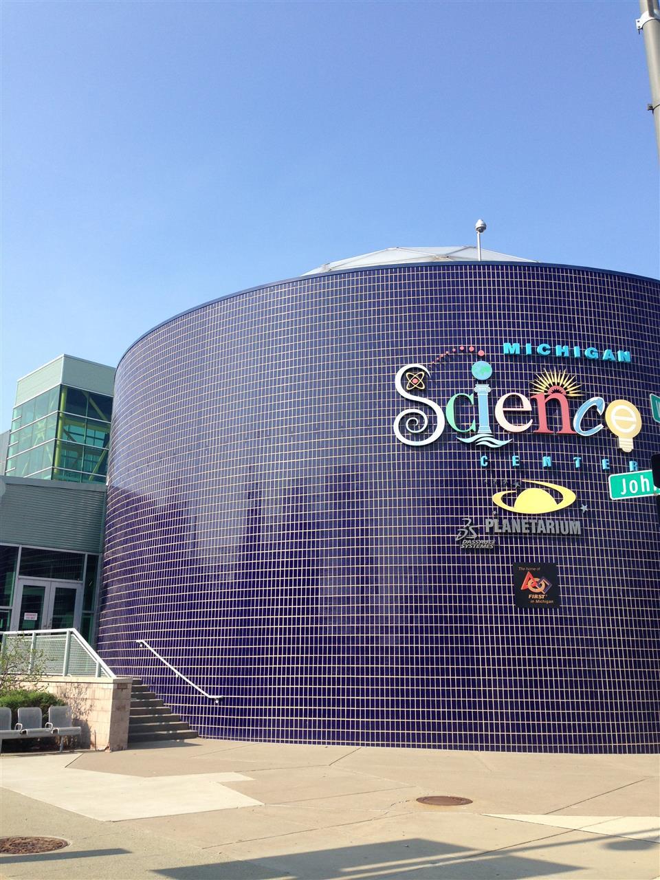 Michigan Science Center ~ Detroit, Michigan #LeadingRElocal #Detroit #Michigan
