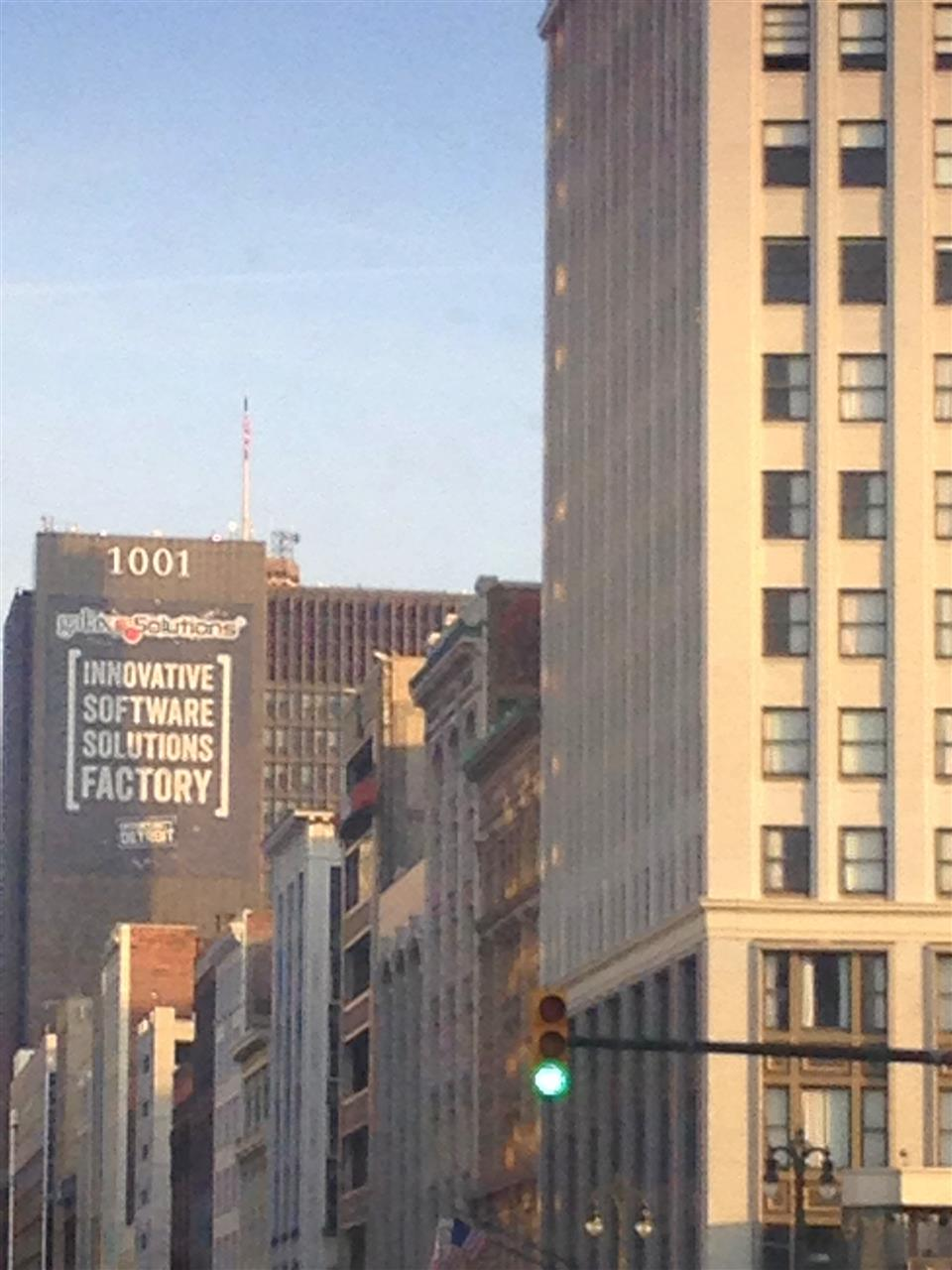 Detroit skyline ~ Detroit, Michigan #LeadingRElocal #Detroit #Michigan