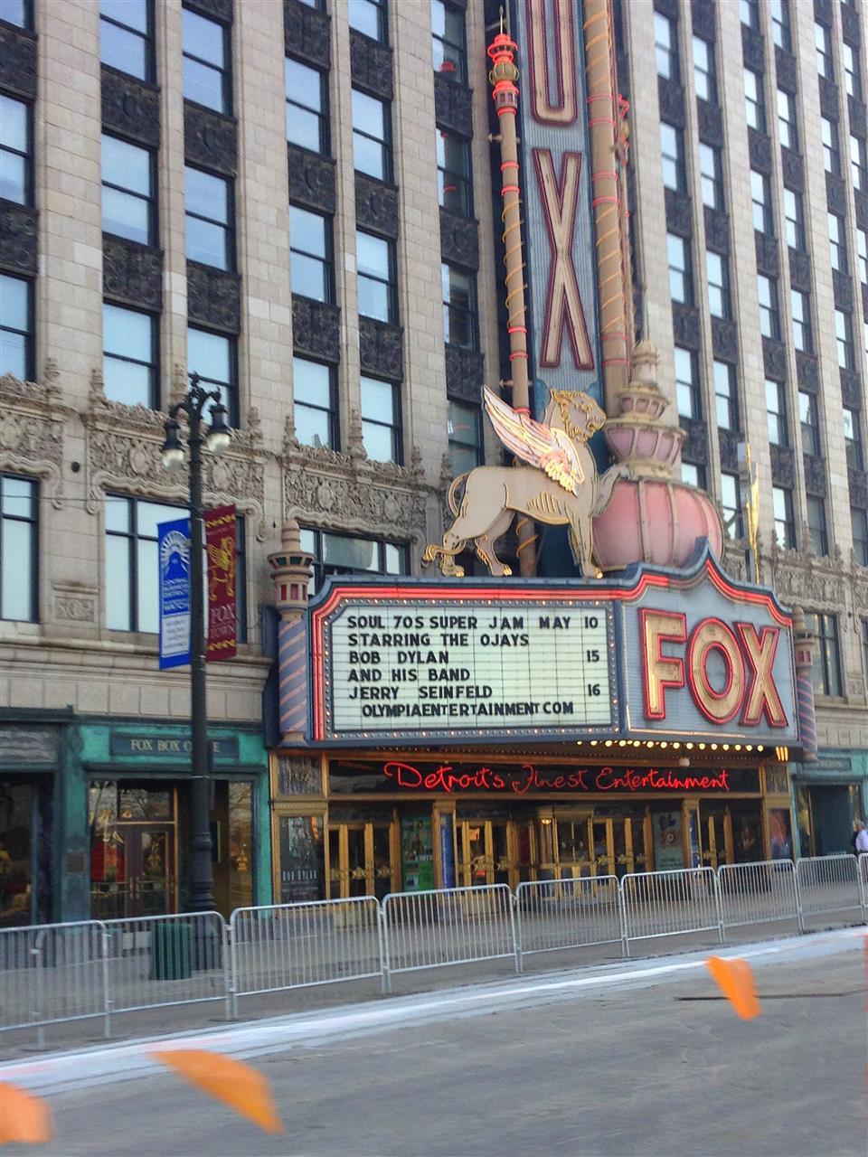 Fox Theatre,  an ornate performing arts center located near the Grand Circus Park Historic District ~ Detroit, Michigan #LeadingRElocal #Detroit #Michigan