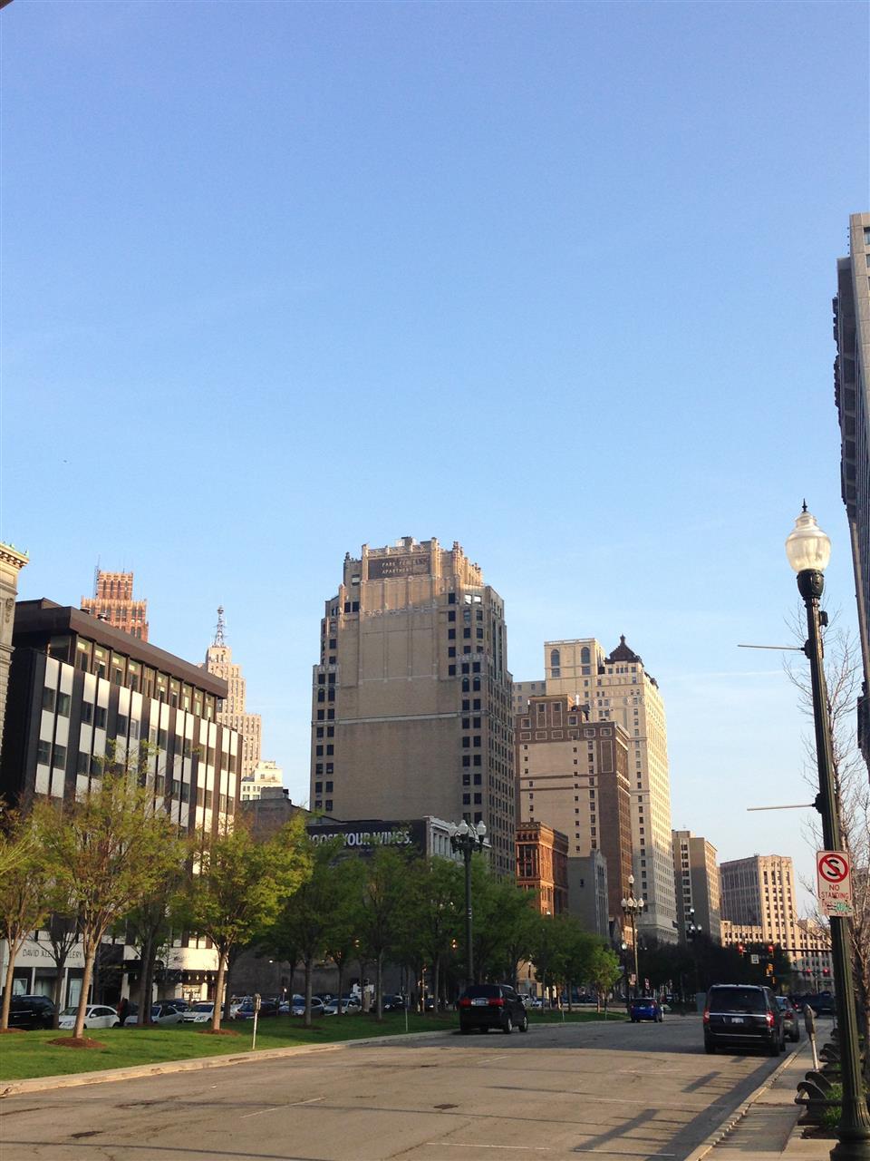 City view of Detroit ~ Detroit, Michigan #LeadingRElocal #Detroit #Michigan