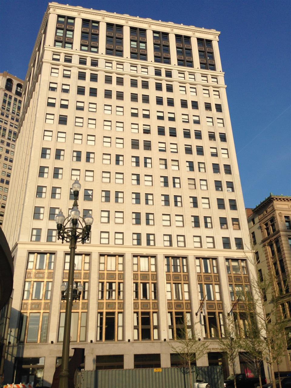 The David Whitney Building is a historic class-A skyscraper located on the northern edge of Downtown Detroit, within the Grand Circus Park Historic District ~ Detroit, Michigan #LeadingRElocal #Detroit #Michigan