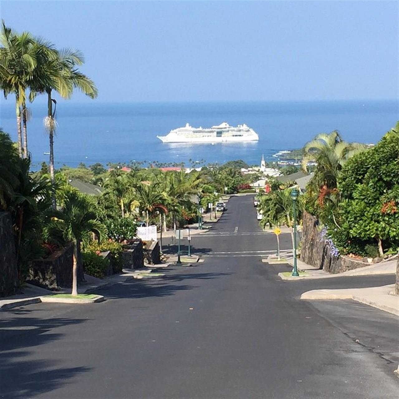 Another cruise ship this week to Kaulua-Kona. #LeadingRELocal #Kona #ClarkHawaii