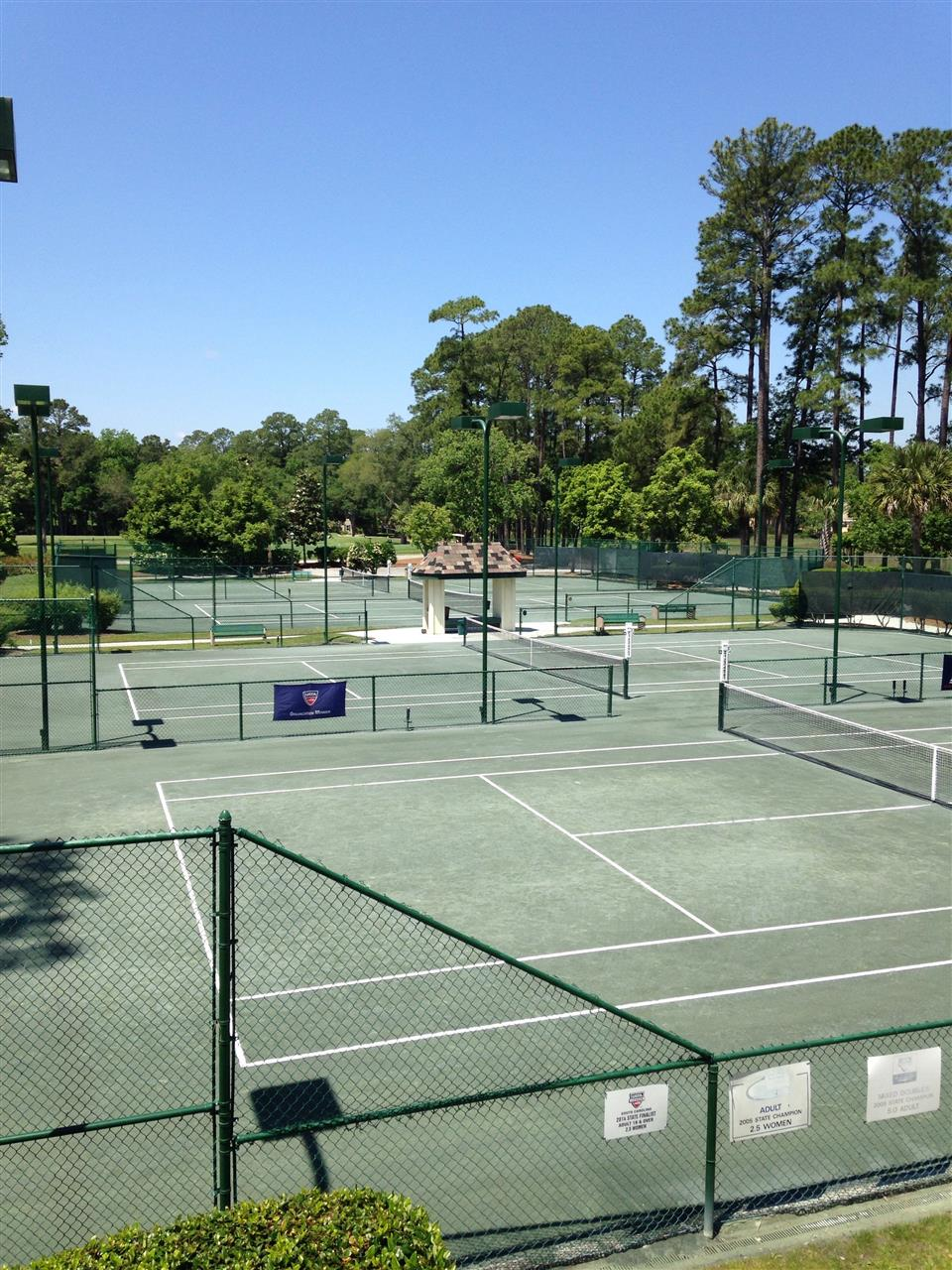 Wexford Plantation Hilton Head Island SC, well maintained tennis courts