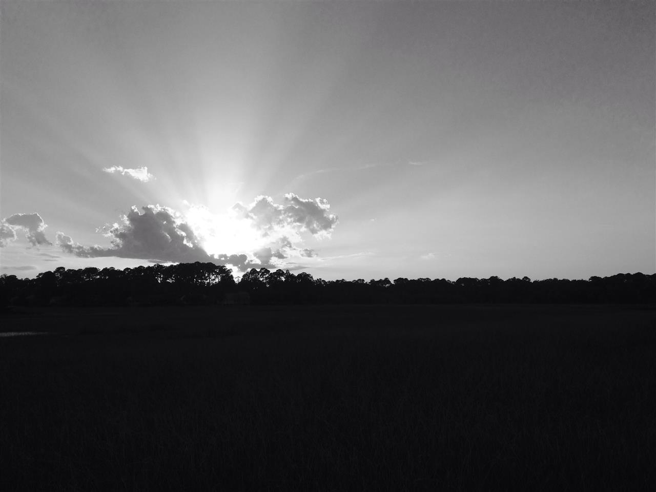 Moss Creek Hilton Head Island SC, sunset across the marsh