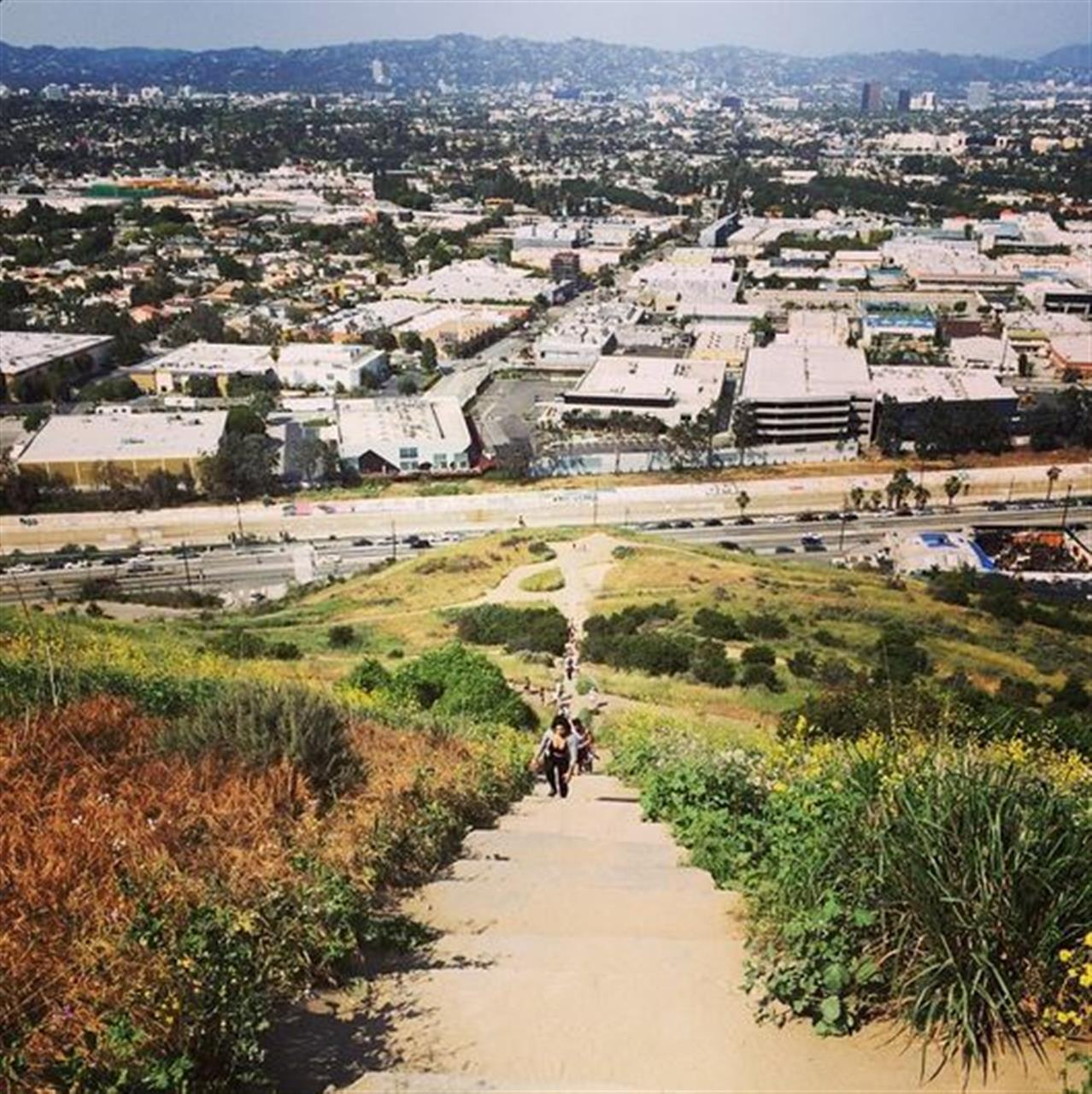 Baldwin Hills, Culver City Steps, Los Angeles