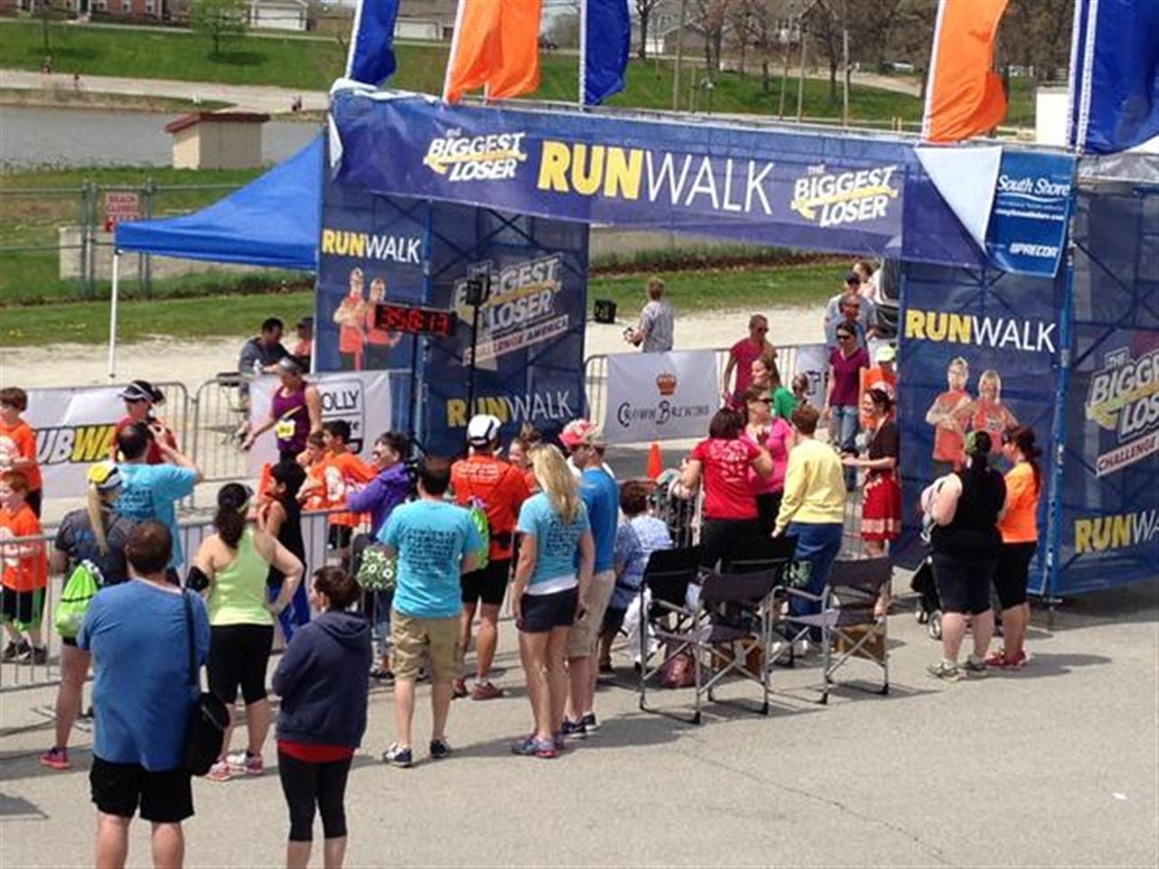 #LeadingRElocal, #Biggest Loser Run/Walk half Marathon / 5k