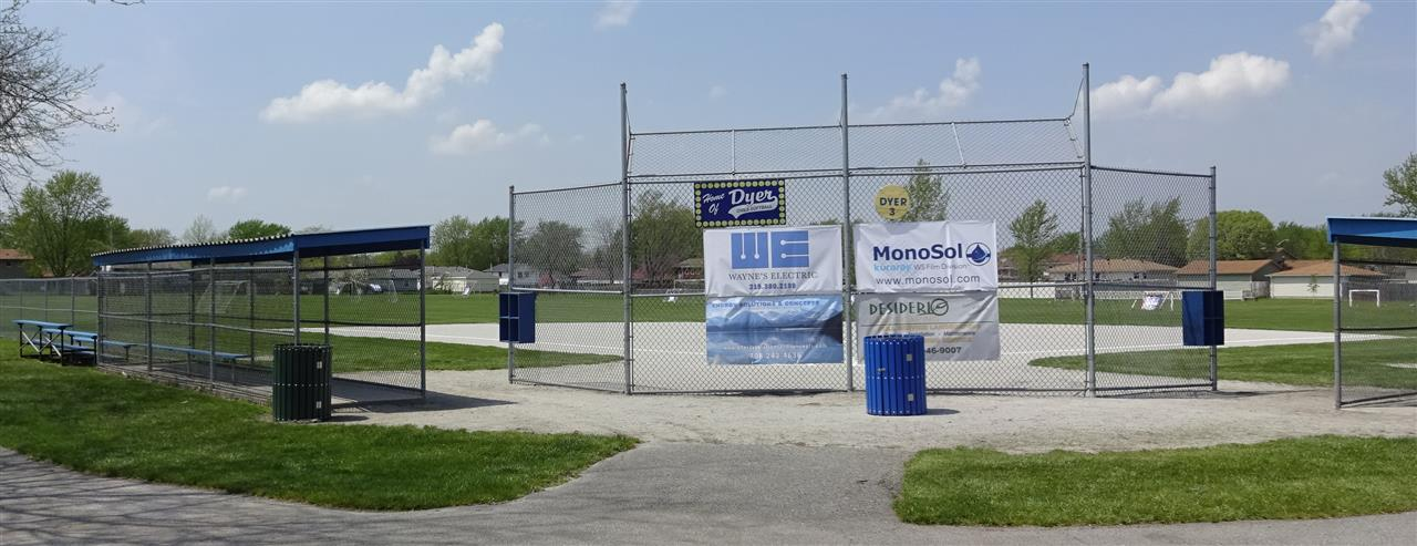 Dyer Girls Softball Field in Dyer, Indiana