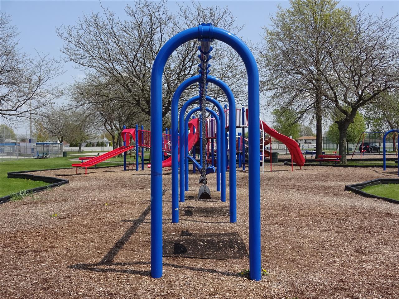 Recreational children's park in Dyer, Indiana