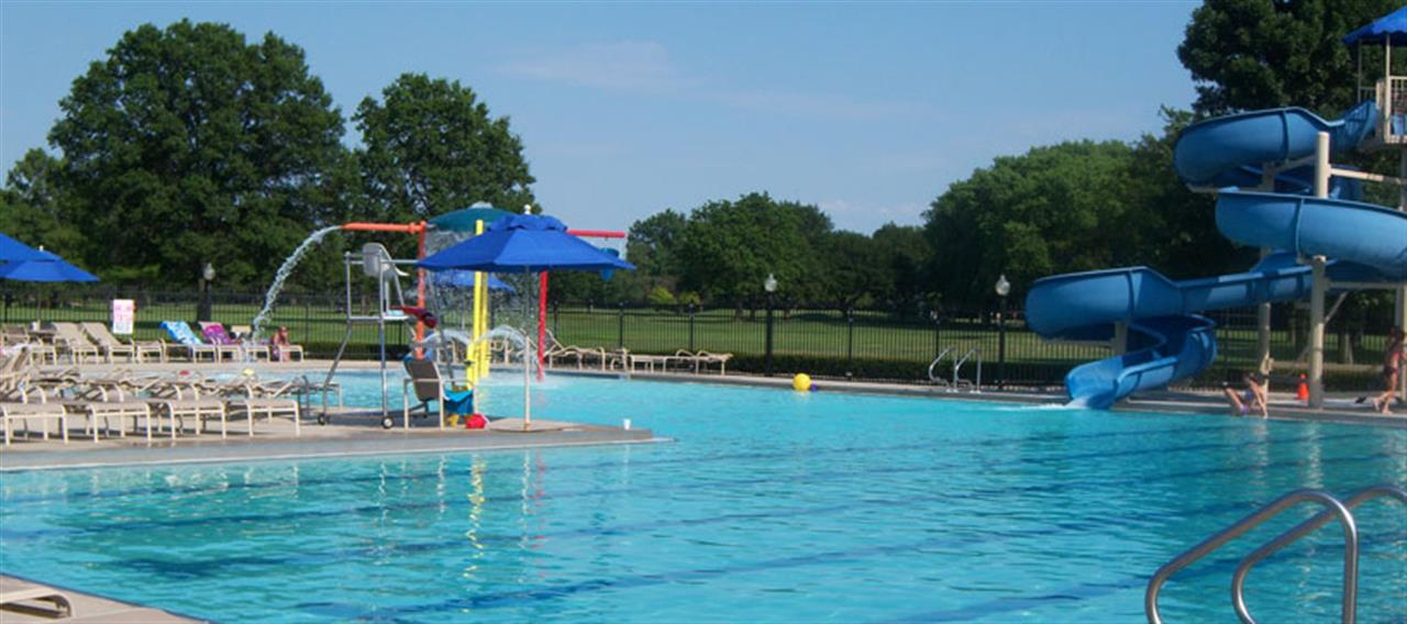 The water park located at Innsbrook Country Club in Merrillville, Indiana.
