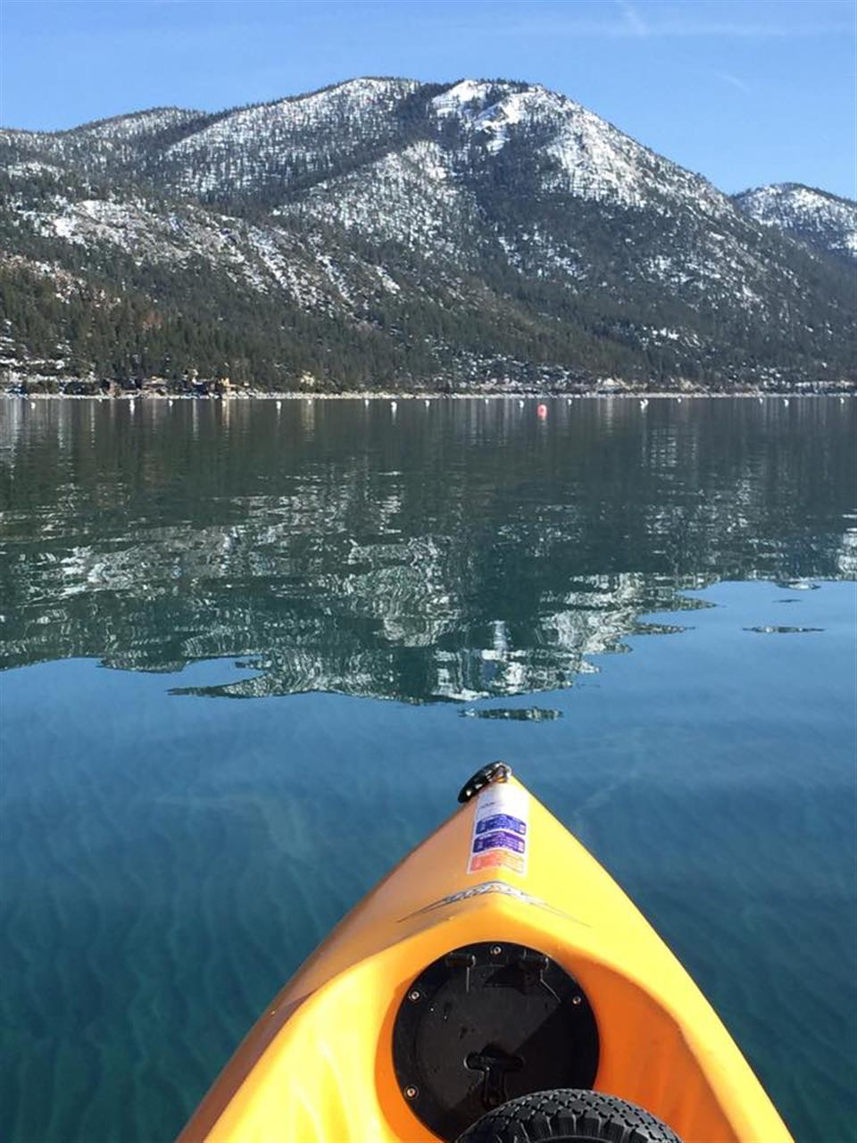 Incline Village, NV  Kayaking the North Shore of Lake Tahoe