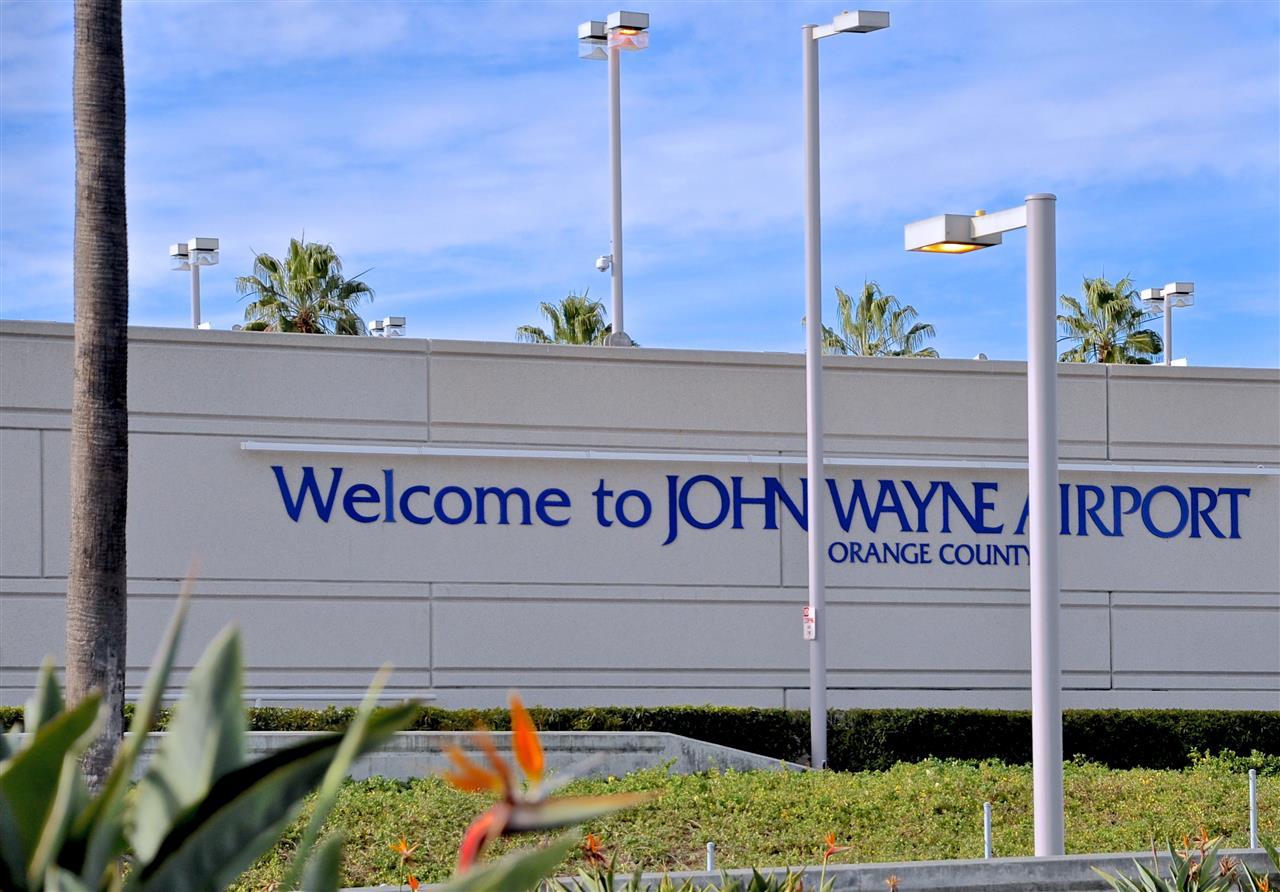 John Wayne Airport Irvine California