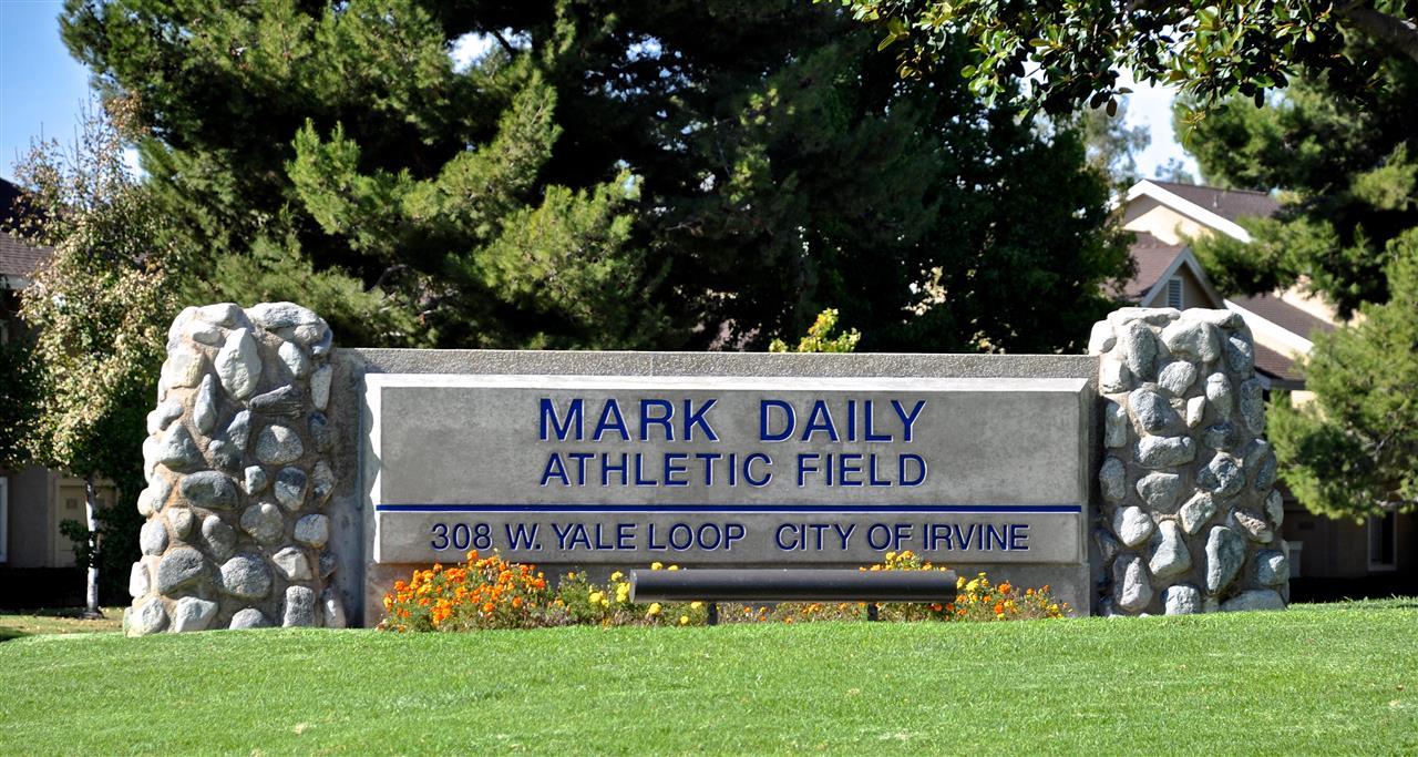 Mark Daily Athlectic Field Irvine California