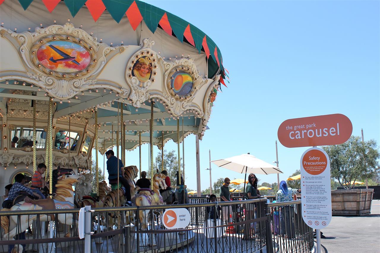 Great Park Carousel Portola Springs Irvine California