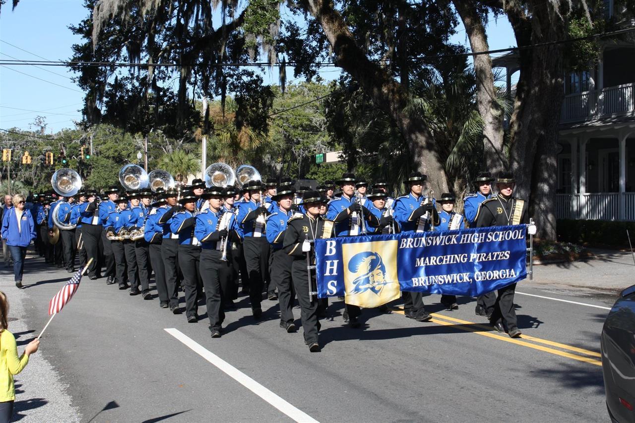 Brunswick High School Marching Pirates Band