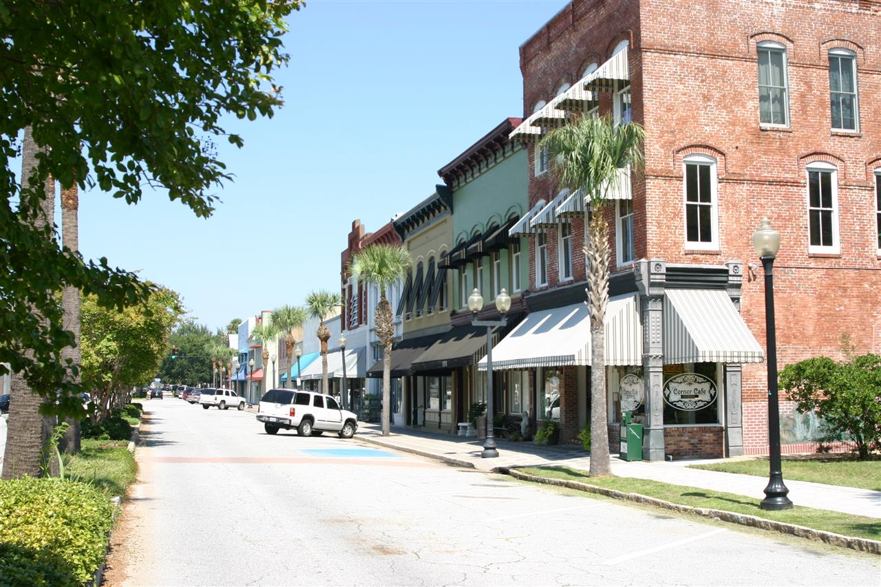 Shops in Historic Downtown Brunswick