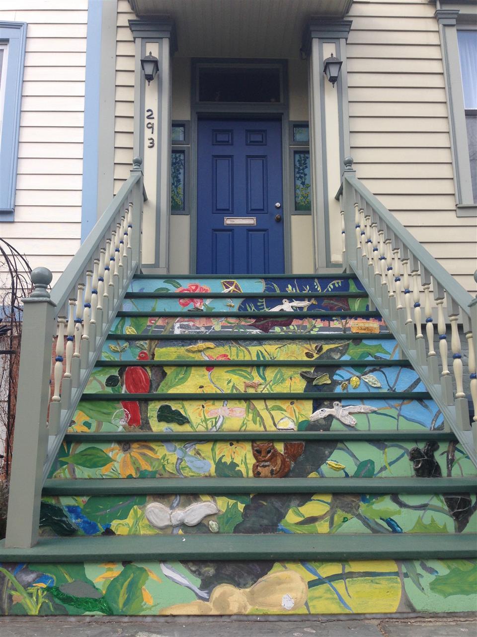 297 Baltic Street Boerum Hill House art
