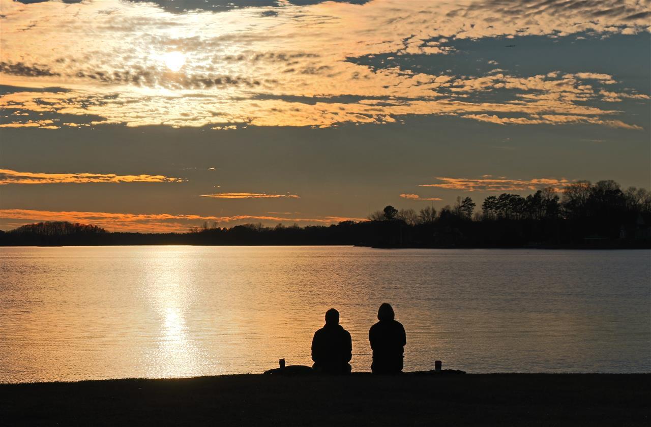 #sunsetlove #cornelius #northcarolina #ramseypark
