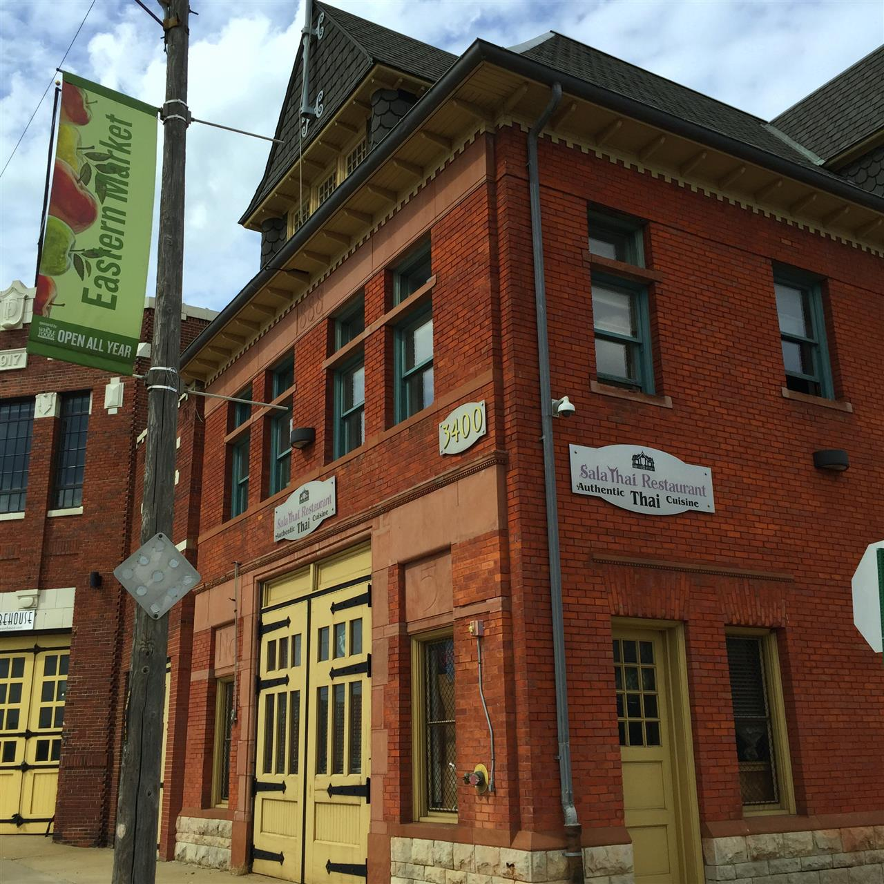 Located in Eastern Market, Sala Thai, is an ex-firehouse turned Thai eatery offering a chill vibe for ample plates of classic fare & sushi ~ Detroit, Michigan #LeadingRElocal #Detroit #Michigan