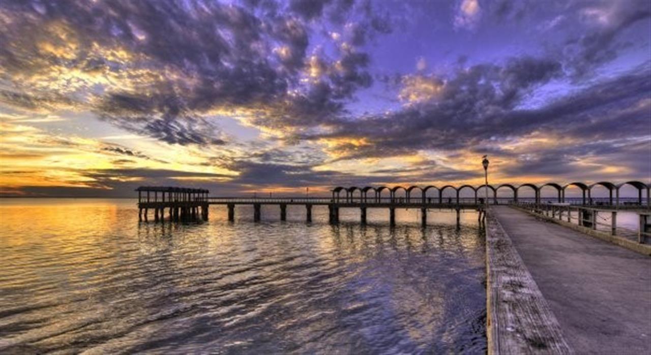 Pier shot on Jekyll Island