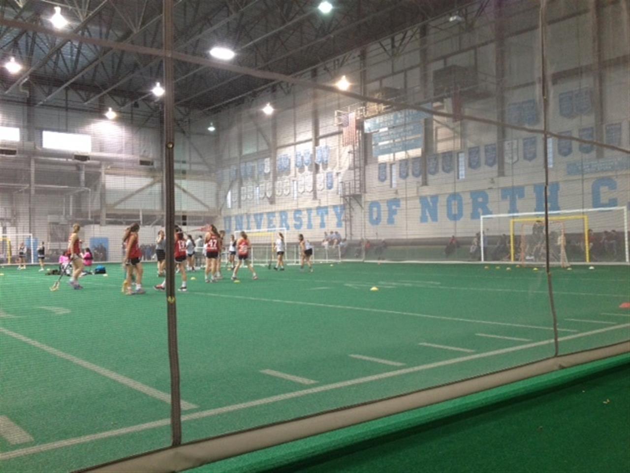 Indoor arena at UNC