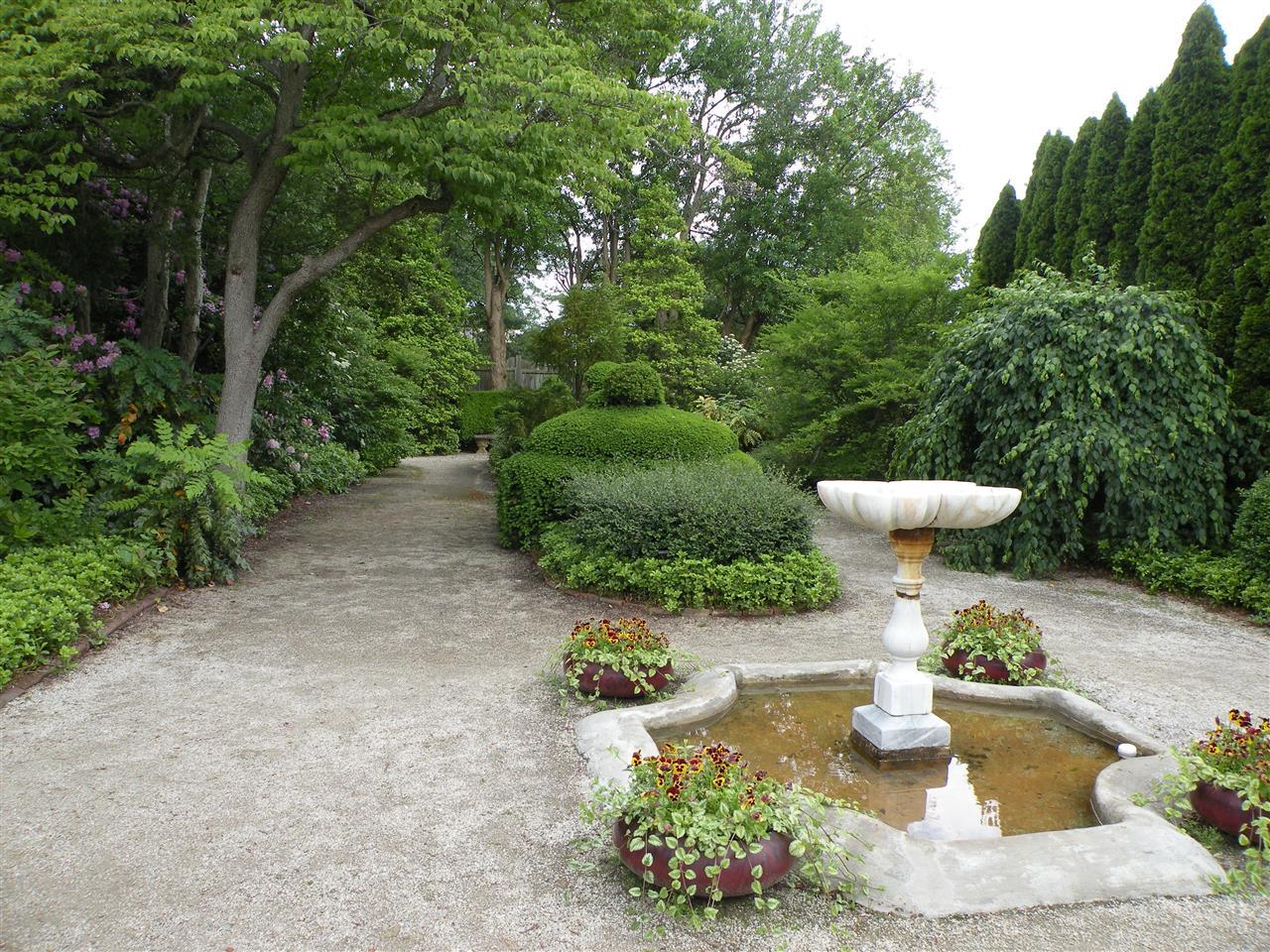 Fountain at Ladew Topiary Garden, Monkton, MD