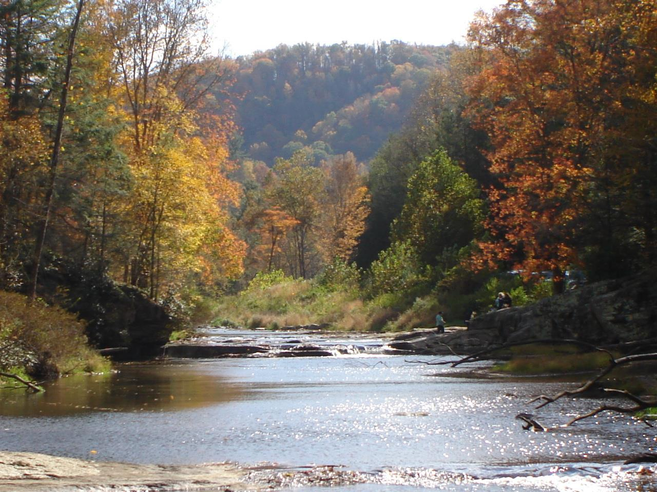 Located near Beech Mountain and Banner Elk is the impressive Elk River  in Pisgah National Forest (Appalachian/Toecane Ranger District) near the small town of Elk Park.