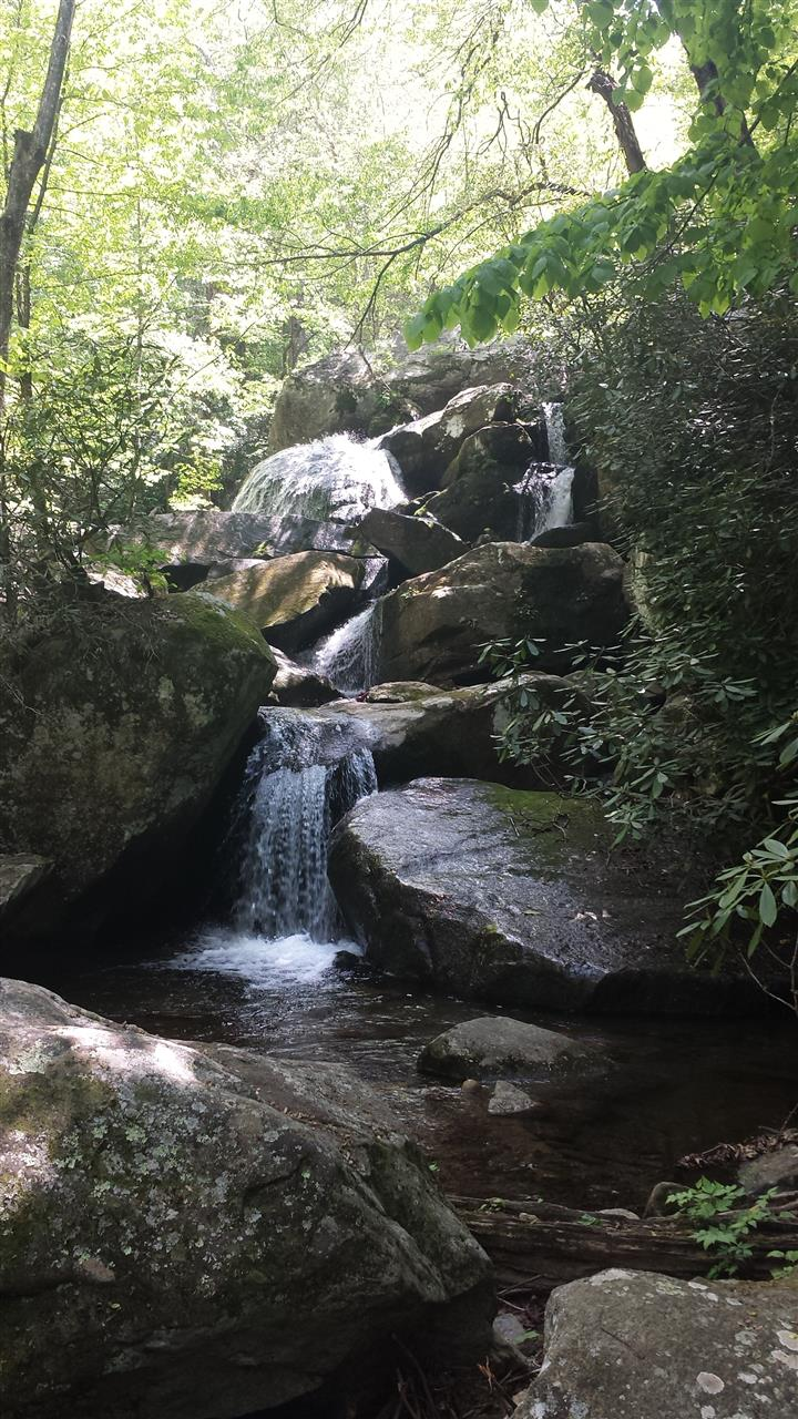 South Mountain State Park, NC One of the many waterfalls on this gorgeous hiking path